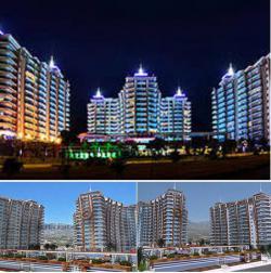 Апартаменты в комплексе Азура Парк в Махмутларе