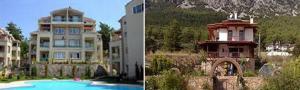 Купить строящийся дом в Мармарисе
