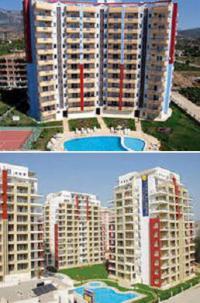 Недвижимость в Турции в Махмутлар в комплексе Азур Парк