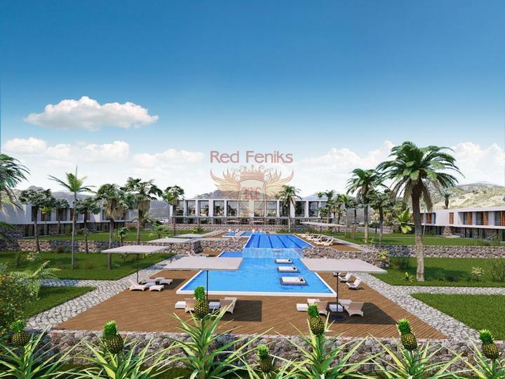 £ 49 990 Оригинальные квартиры-студии (осталось только 3) + расположение на берегу моря + тройной бассейн олимпийских размеров + крытый бассейн с подогревом и биофермой + развитая уличная инфраструктура + план оплаты.