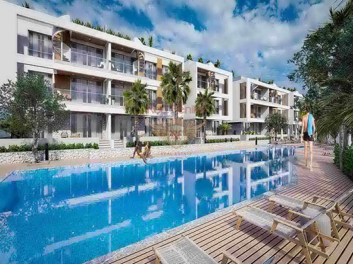 £ 52 900 Роскошные студио апартаменты в комплексе с бассейном + СПА центр + рестораны + кинотеатры + 500 метров от песчаного пляжа.