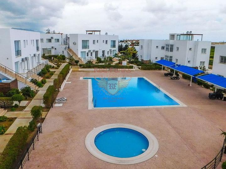 £ 39 500 Односпальные апартаменты со всей мебелью и бытовой техникой в курортном комплексе.