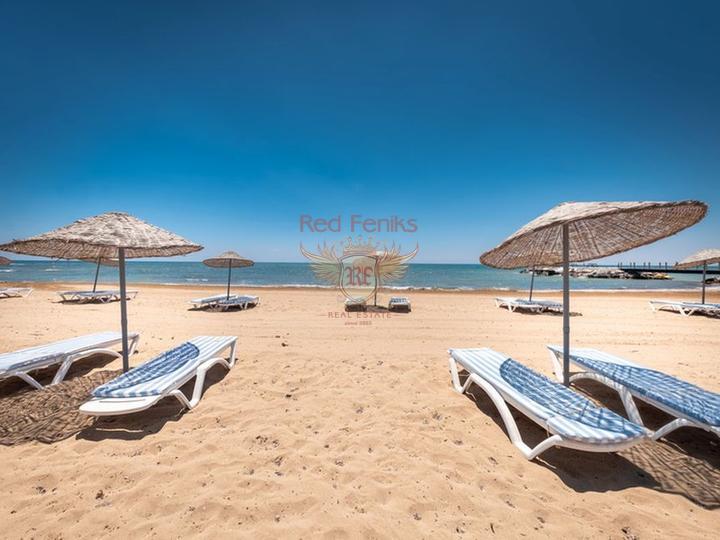 £ 45 950 Студия и 3-комнатные вторичные апартаменты класса люкс + общий бассейн + СПА центр + песчаный пляж + схема оплаты.