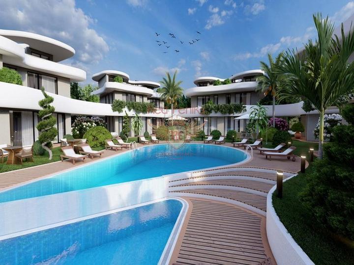 £ 169,950 Вилла с 3 спальнями на берегу моря + камин + прямой выход к морю + турецкие титулы.