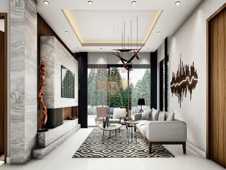 Вилла с 5 спальнями + бассейн 10 х 5 м + потрясающий вид на море, Дом в Кирения Северный Кипр