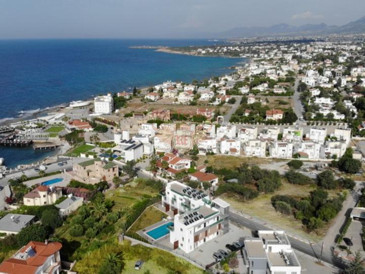 Апартаменты с 2 спальнями + на стороне моря + парковочная зона + центральное расположение, Квартира в Кирения Северный Кипр