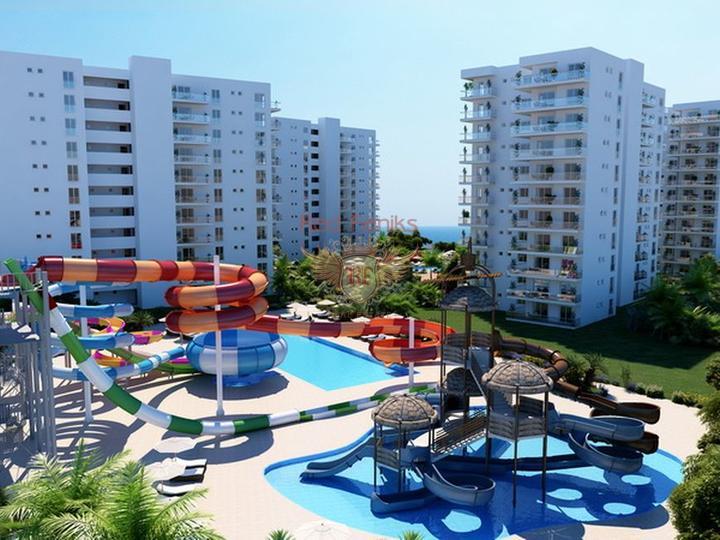 Квартиры 2+1 на стадии строительства, Квартира в Фамагуста Северный Кипр