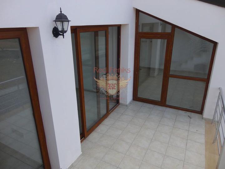 Пентхаус с 2 спальнями + общий бассейн + вид на море, Квартира в Кирения Северный Кипр