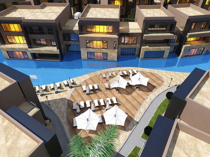 Квартиры 3 + 1 современный проект на стадии строительства, Квартира в Кирения Северный Кипр