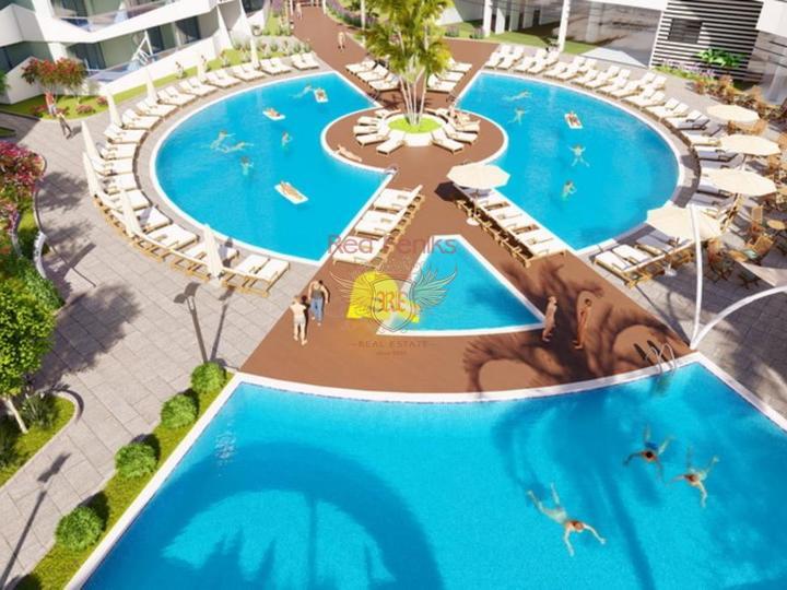 Роскошный пентхаус 3+1 всего в 550 м от прекрасного песчаного пляжа, Квартира в Фамагуста Северный Кипр