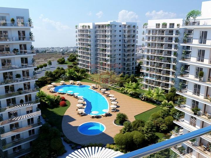 Цена От £ 94 500 Квартиры-студии на стадии строительства + общественные бассейны + аквапарк + ресторан + возле моря + Беспроцентная рассрочка платежа сроком до 4 лет Многоэтажный жилой комплекс комфорт-класса.