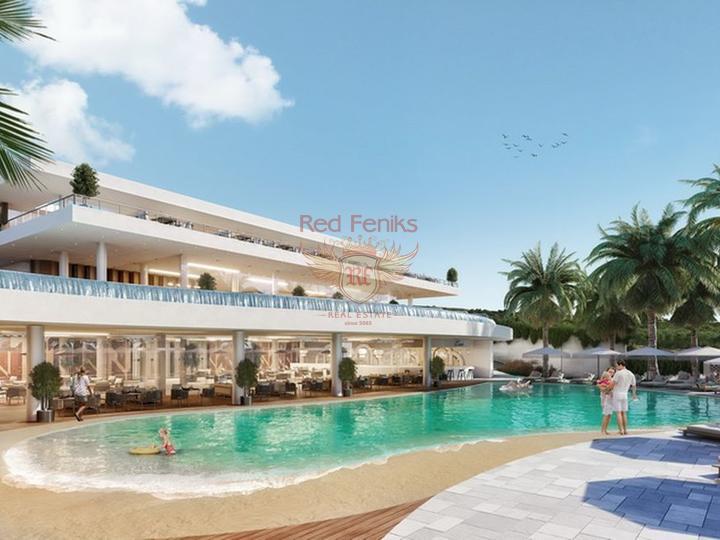 Квартира 1+1 на первом этаже + общий бассейн + пешая доступность до моря, купить квартиру в Кирения