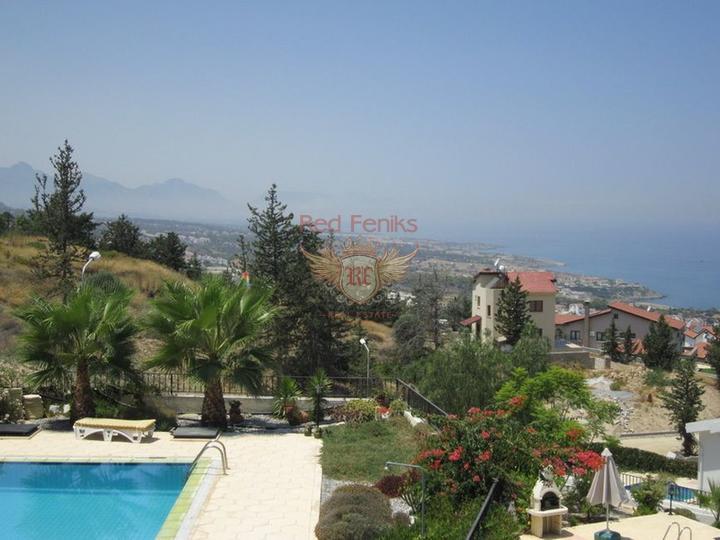Вилла с 4 спальнями + бассейн + бытовая техника + Титул на имя владельца, купить дом в Кирения