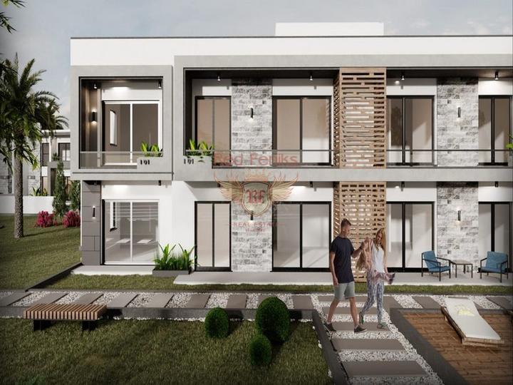 Особняк с 3 спальнями + полностью новый + 3 этажа + большая терраса на крыше, купить дом в Кирения
