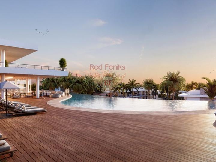 Современная вилла с 4-мя спальнями + 4м х 8м бассейн + система отчистки воды, купить виллу в Кирения