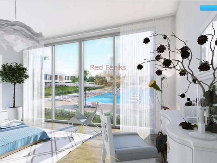 Оригинальные квартиры-студии расположение на берегу моря, купить квартиру в Кирения