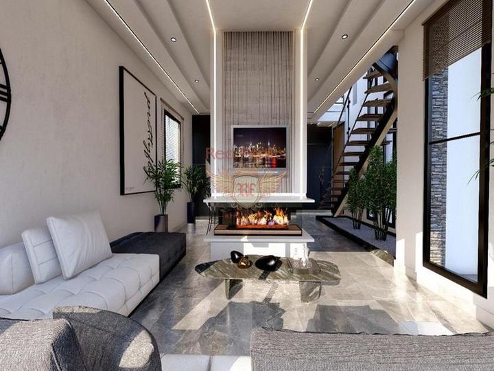 £ 49 990 Эсентепе Современные апартаменты у моря в комплексе с большим эко-бассейном Рассрочка на два с половиной года! Проект состоит из 156 студий: студии 35 кв.