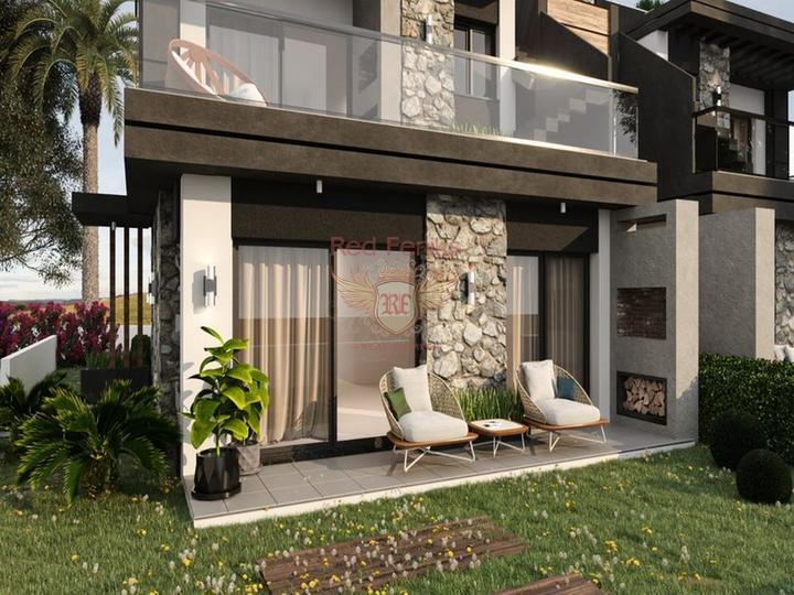 Особняк с 3 спальнями + полностью новый + 3 этажа + большая терраса на крыше, купить виллу в Кирения