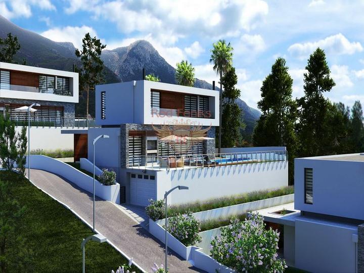 Трехспальная вилла с бассейном, колодцем и прекрасным садом, купить виллу в Кирения
