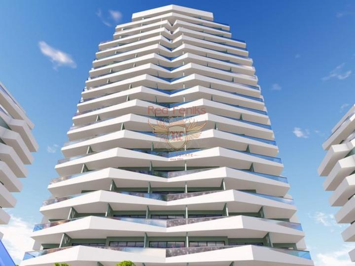 Современные апартаменты 2+1 всего в 550 м от прекрасного песчаного пляжа, Квартира в Фамагуста Северный Кипр