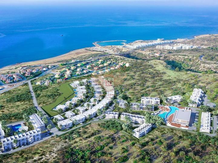 Современная вилла с 4-мя спальнями + 4м х 8м бассейн + система отчистки воды, Дом в Кирения Северный Кипр