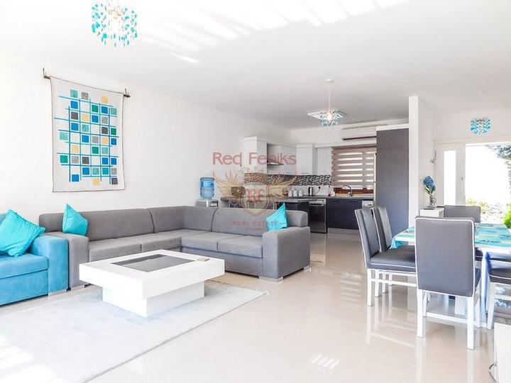 3-комнатная квартира на первом этаже, Квартира в Кирения Северный Кипр