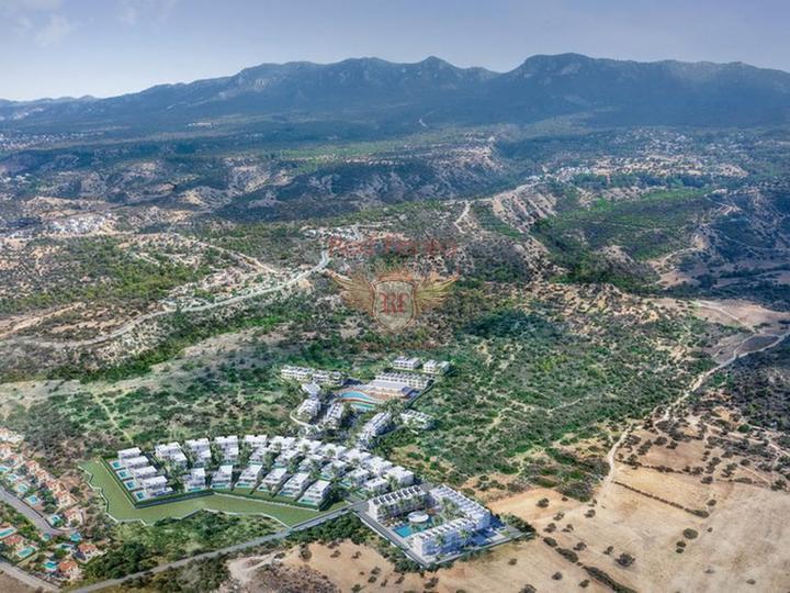 3-х комнатная вилла + бассейн общего пользования + кондиционеры + бытовая техника, Вилла в Кирения Северный Кипр