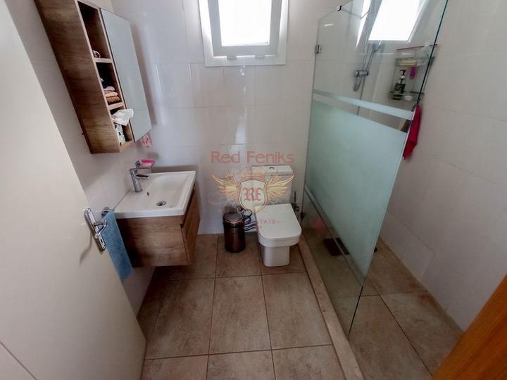Двухспальный пентхаус со всей мебелью, общими бассейнами, Квартира в Кирения Северный Кипр