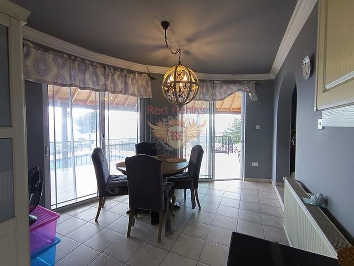 Вилла в средиземноморском стиле с 3 спальнями + полностью меблированная, Вилла в Фамагуста Северный Кипр