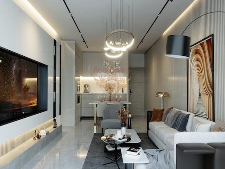Просторная вилла с 5 спальнями + расположение в деревне с прекрасным видом на море, купить дом в Кирения