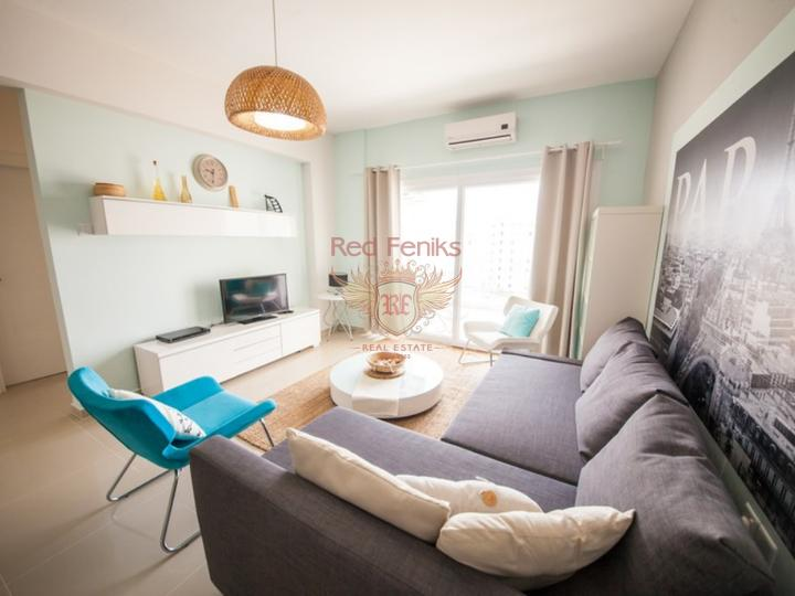 Квартира с 2 спальнями + 5 общих бассейнов + СПА центр + 600 м от песчаного пляжа + схема оплаты, купить квартиру в Кирения