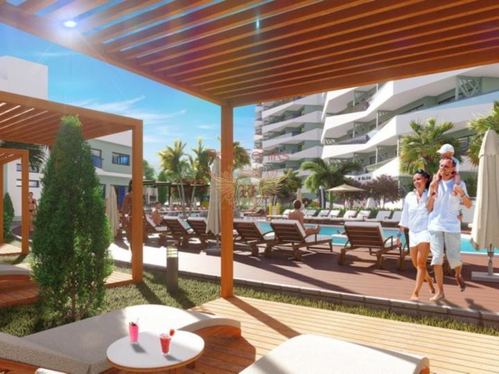 Роскошный пентхаус 3+1 всего в 550 м от прекрасного песчаного пляжа, купить квартиру в Фамагуста