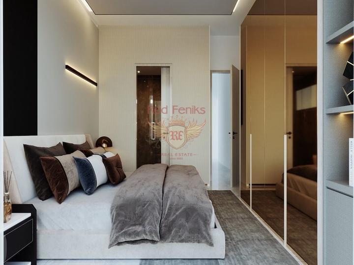 Квартира 1+1 + частный сад с бассейном + Полностью Меблированная - Пакет Люкс, купить квартиру в Кирения