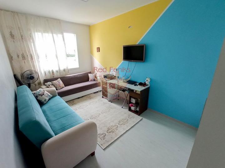 Пентхаус с 1 спальней + кухонные гарнитуры + общий бассейн + частный пляж, купить квартиру в Кирения