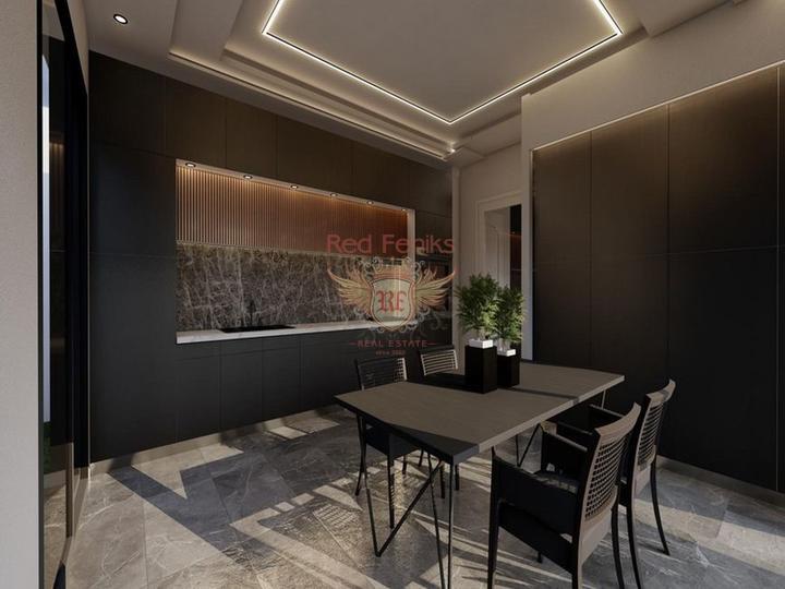 Виллы с 3 спальнями + общий бассейн + схема оплаты + пешая доступность до моря, Дом в Кирения Северный Кипр