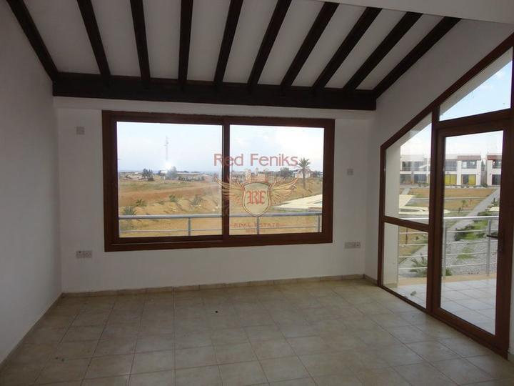 Новые квартиры на первом этаже + общий бассейн + вид на море, Квартира в Кирения Северный Кипр
