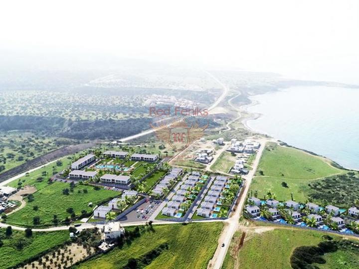 Оригинальные квартиры-студии расположение на берегу моря, Квартира в Кирения Северный Кипр