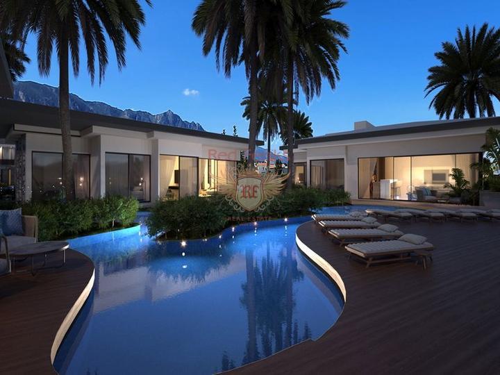 Современные одно - двух и трехспальные апартаменты с общим бассейном, от застройщика, купить квартиру в Кирения