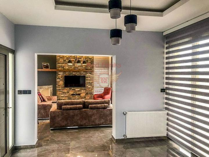 Новая вилла с 3 спальнями в современном стиле, купить дом в Кирения
