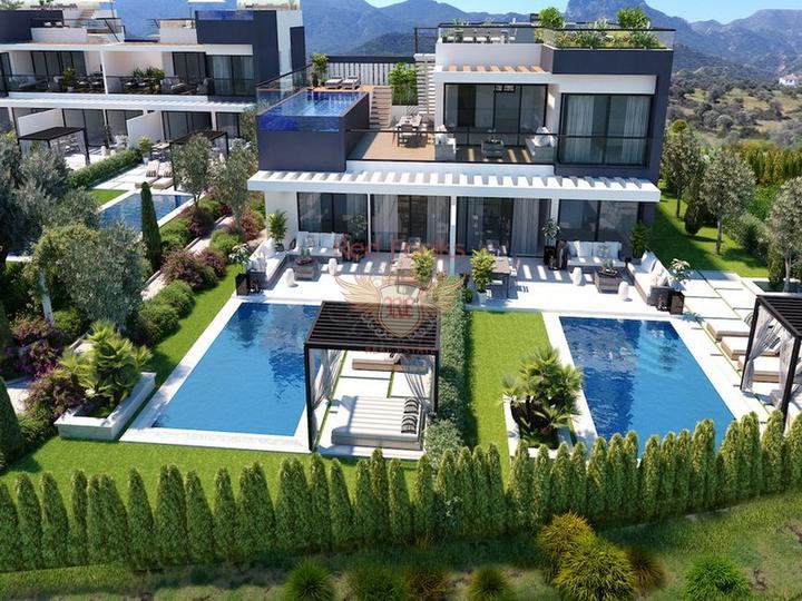 Трехкомнатная квартира + общий бассейн + мебель, Квартира в Кирения Северный Кипр