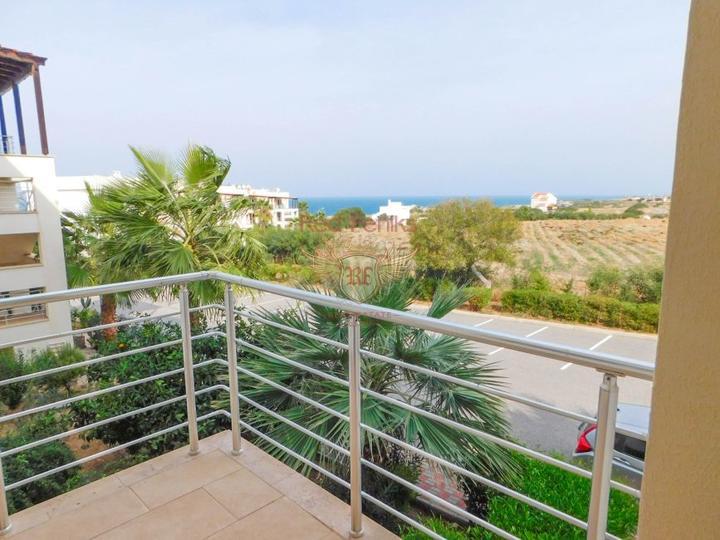 Прекрасные апартаменты c 2 спальнями + вблизи моря, Квартира в Кирения Северный Кипр