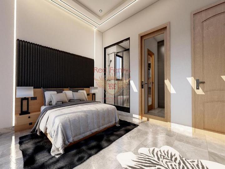 Современные одно - двух и трехспальные апартаменты с общим бассейном, от застройщика, Квартира в Кирения Северный Кипр