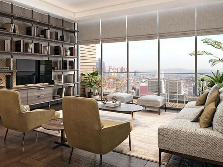 Двухспальный пентхаус с кондиционерами и бытовой техникой, Квартира в Кирения Северный Кипр
