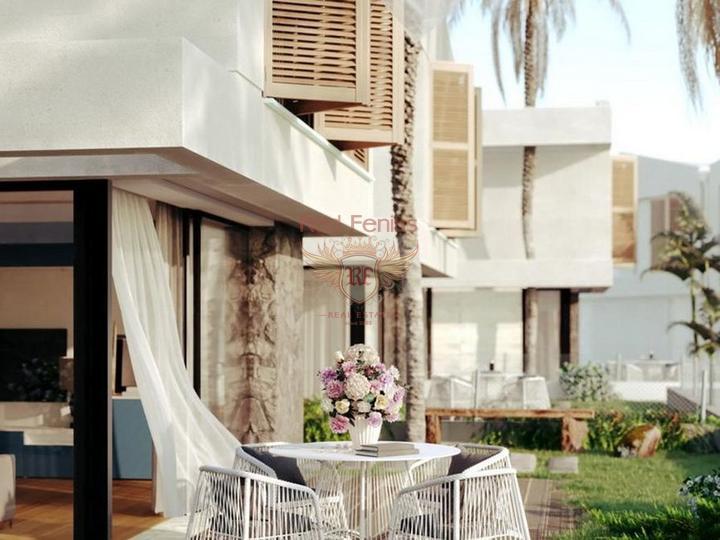 3-х комнатный двухквартирный дом + общий бассейн и общая зеленая территория, Дом в Кирения Северный Кипр