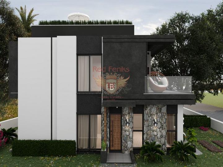 Бунгало с 3 спальнями + бассейн 8 х 4 м + большой сад с оливковой рощей, купить виллу в Кирения