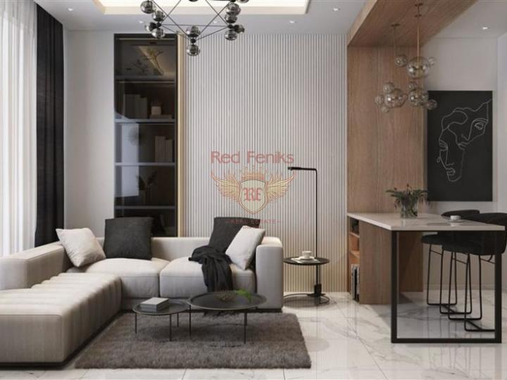 Новый строительный проект в Авсалларе. Квартиры 2+1, купить квартиру в Алания