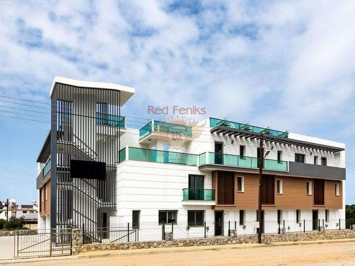 Квартиры 1+1, в элитном комплексе, купить квартиру в Анталия