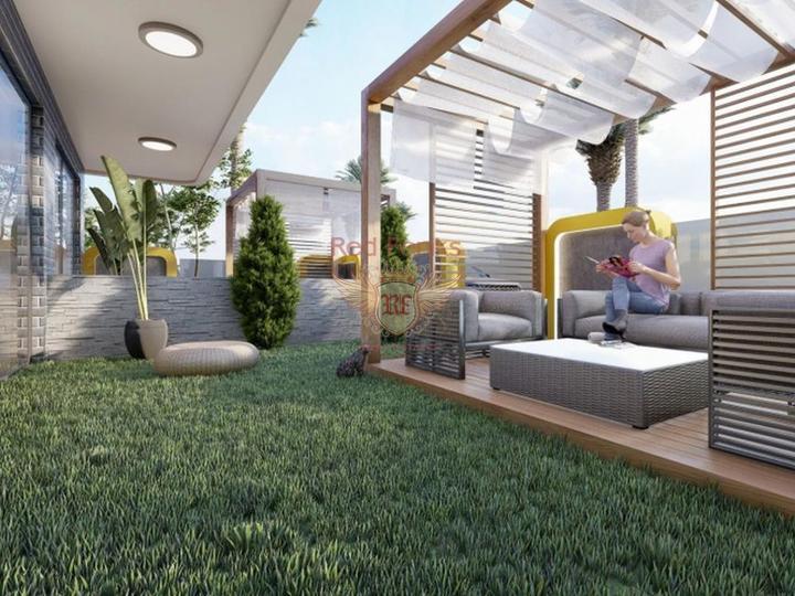 Строительный проект в центре города, купить квартиру в Алания