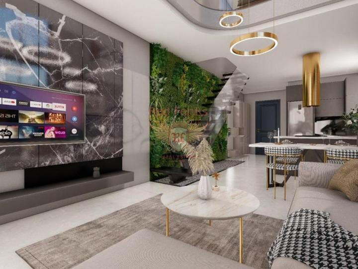 Строительный проект в центре города, Квартира в Алания Турция