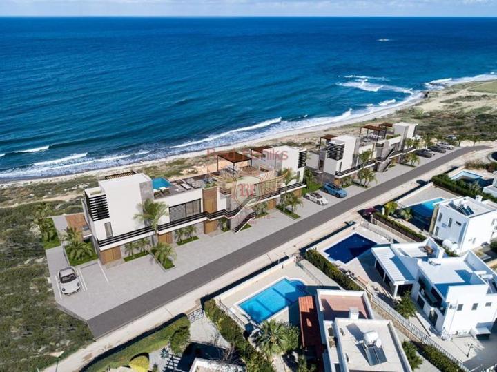 Современные двухуровневые апартаменты с 2 спальнями, Квартира в Кирения Северный Кипр